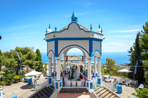 wedding ceremony in la cupula, costa del sol