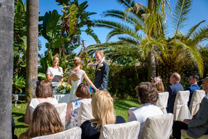 private villa wedding in spain