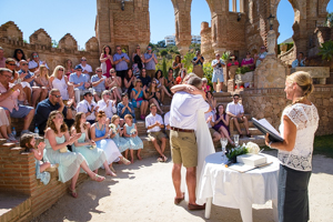 humanist celebrant wedding in spain