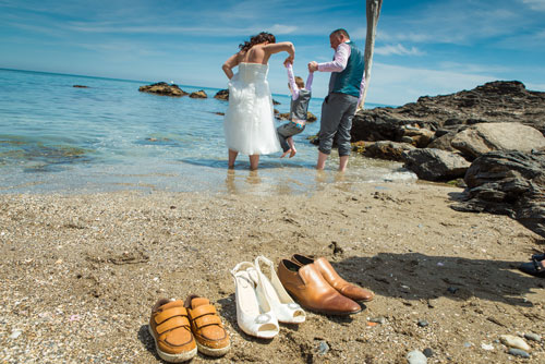 beach wedding in spain
