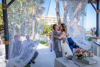 costa del sol beach wedding
