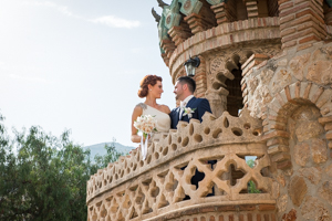 wedding in a castle in spain